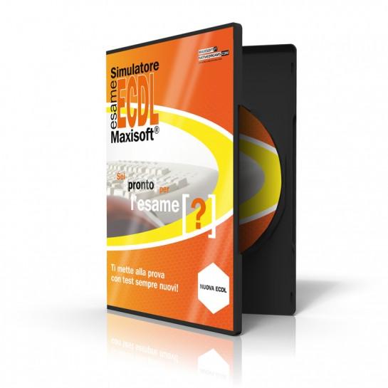 Multilicenza Simulatore esame Nuova ECDL Maxisoft - 5 postazioni - Software per computer Windows con simulazioni illimitate