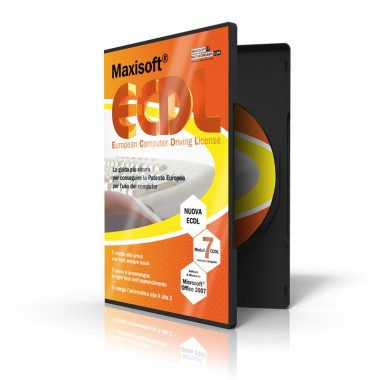Multilicenza Maxisoft Nuova ECDL - 5 postazioni - Software per computer Windows