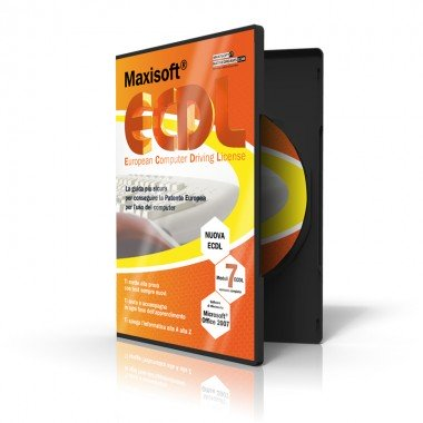 Multilicenza Maxisoft Nuova ECDL - Guida per apprendere l'informatica di base - Software Windows