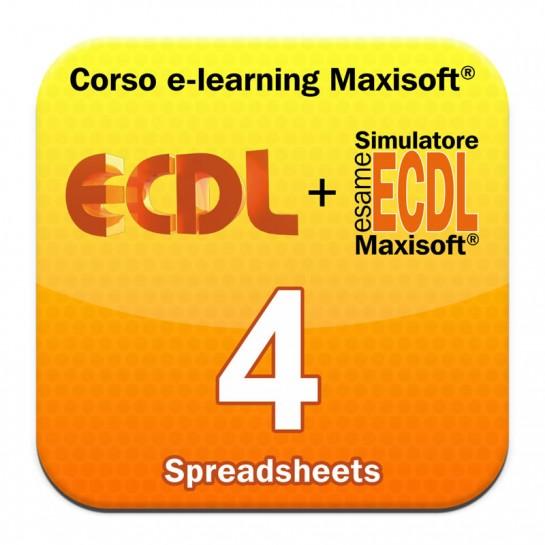 Corso Nuova ECDL MODULO 4 Spreadsheets - Fogli elettronici