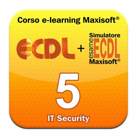 Corso Nuova ECDL MODULO 5 IT Security - Sicurezza informatica