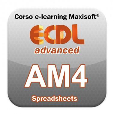Corso ECDL Advanced Spreadsheets - Fogli elettronici