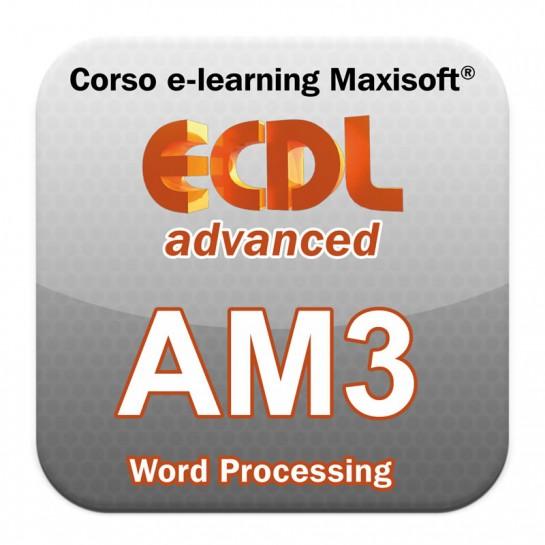 Corso ECDL Advanced Word Processing - Elaborazione testi