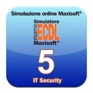 Simulazione online esame NUOVA ECDL Maxisoft® - 5. IT Security (Syllabus 2)