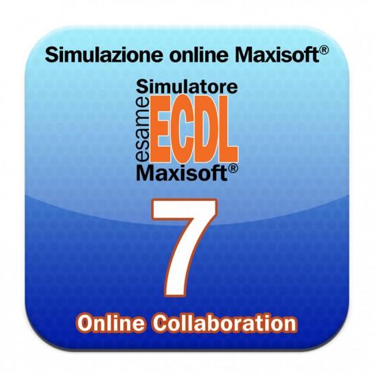 Simulazioni online esame NUOVA ECDL Modulo 7 Online collaboration